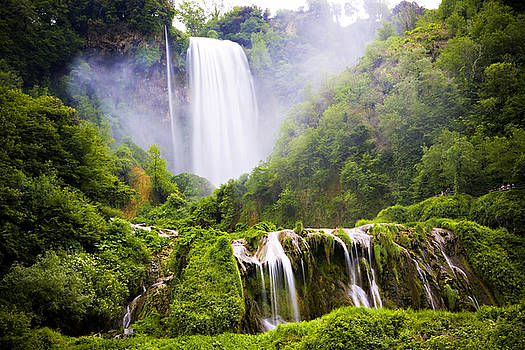 Marilyn Hunt - Marmore Waterfalls Italy