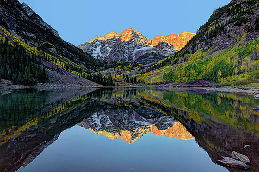 Maroon Bells Sunrise by Mark Whitt