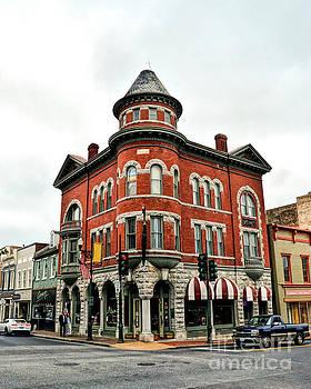 Marquis Building - Historic Staunton Virginia by Kerri Farley