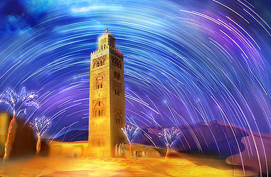 Marrakech by Abstract Paintings