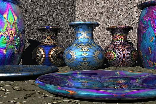 Marrakesh Open Air Market by Lyle Hatch