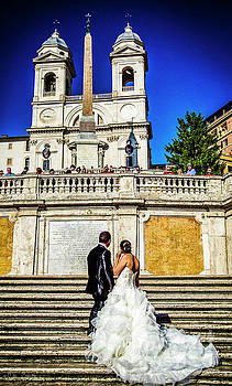 Julian Starks - Marriage at Spanish Steps