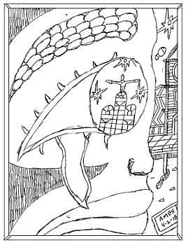 Marriot Bldg Inside Of Darky Eye by Anthony Benjamin