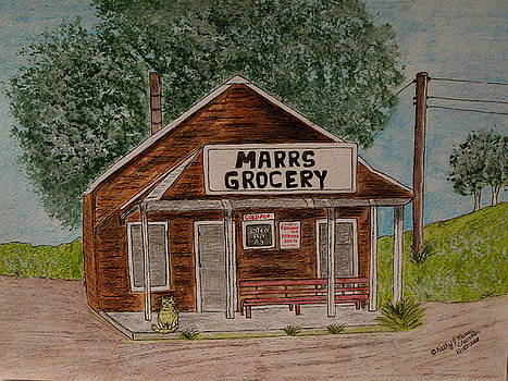 Marrs Country Grocery Store by Kathy Marrs Chandler