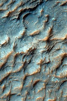 Mars Dragon Scales in Light Blue by Ian Grasshoff