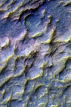 Mars Dragon Scales in Purple by Ian Grasshoff