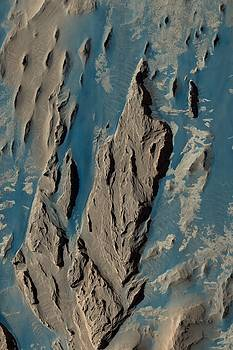 Mars Dunes In Western Medusae Fossae by Ian Grasshoff