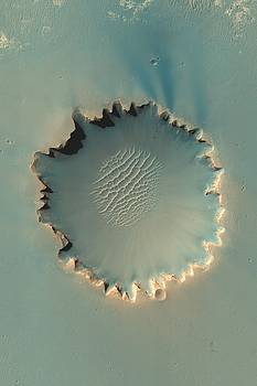 Mars Victoria Crater by Ian Grasshoff