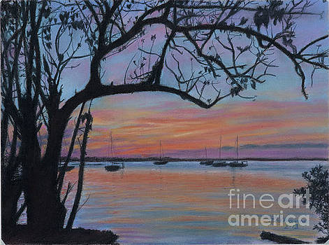Marsh Harbour at Sunset by Roshanne Minnis-Eyma