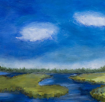 Marsh In The Low Country by Frank Bright