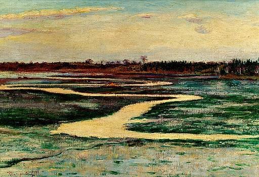 Marsh Landscape 1905 by Peter Gumaer Ogden