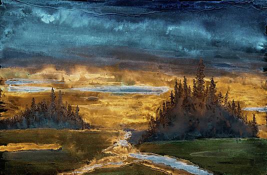 Marsh Mists  by R Kyllo
