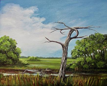 Marsh Sentinel by Marlyn Boyd