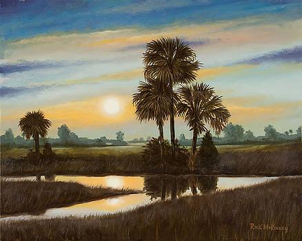 Marsh Sunset by Rick McKinney