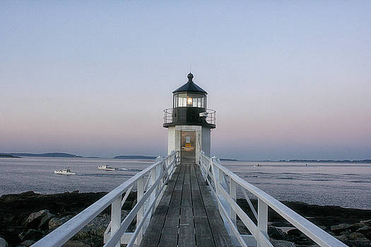 Marshall Point Lighthouse by Cindi Ressler