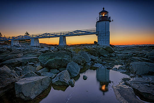 Marshall Point Reflection by Rick Berk