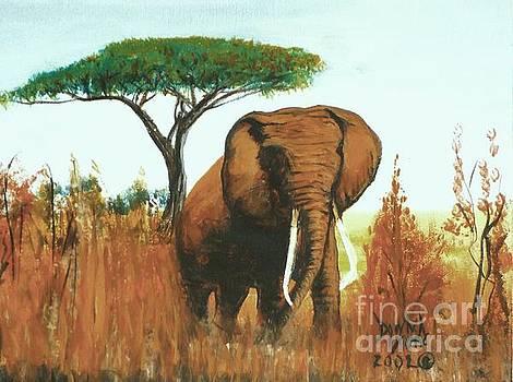 Marsha's Elephant by Donna Dixon