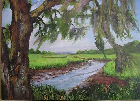 marshes of Charleston  by Gloria Smith