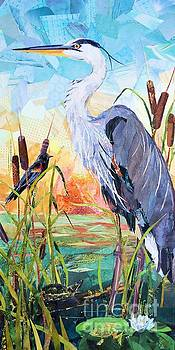 Marshland Morning by Patricia Henderson