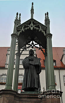 Jost Houk - Martin Luther in Market Square