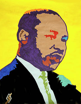 Martin Luther King  by Stormm Bradshaw