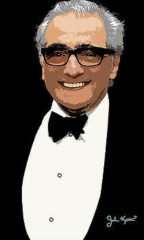 Martin Scorsese by John Keaton