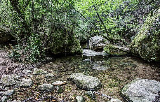 Martinet Creek in Aiguafreda Catalonia by Marc Garrido