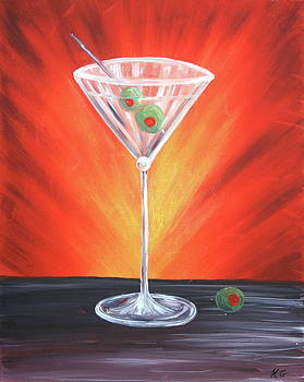 Martini Time by Kristine Mueller Griffith
