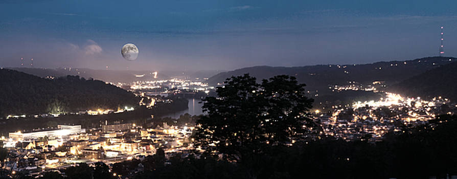 Martins Ferry Night by David Yocum