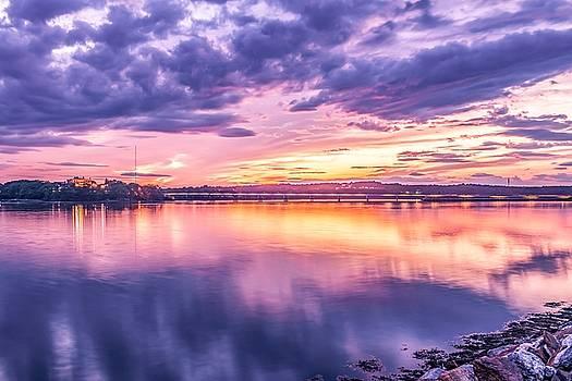 Martins Point Sunset 2 by Tim Sullivan