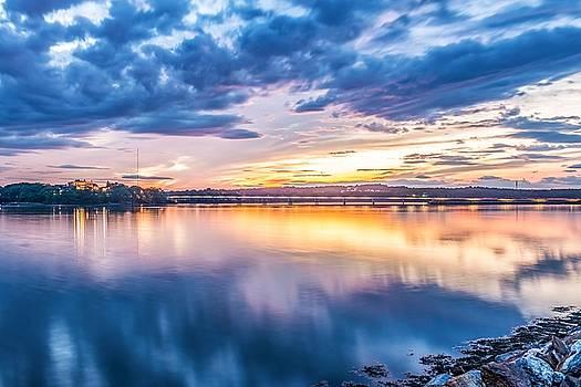 Martins Point Sunset by Tim Sullivan