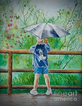 Marcus' Umbrella by AnnaJo Vahle