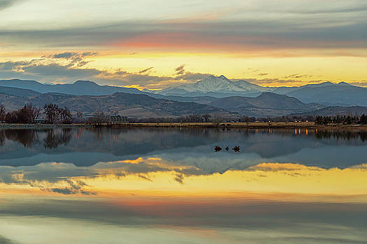 Marvelous McCall Lake Reflections by James BO Insogna