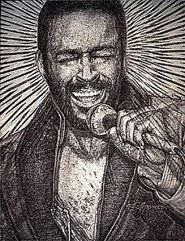 Marvin Gaye  by Buena Johnson