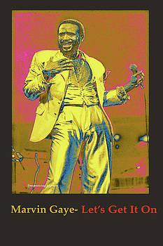 Marvin Gaye by Michael Chatman