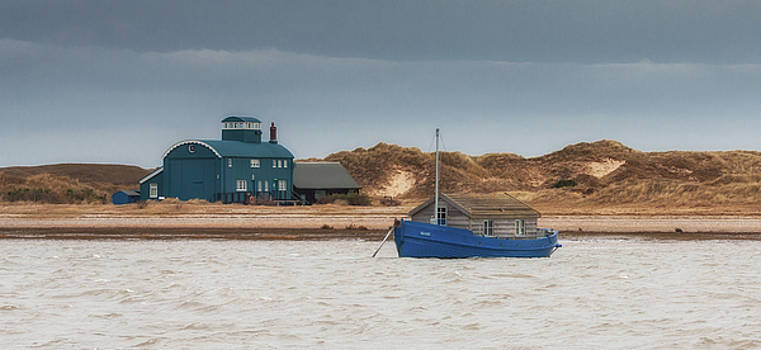 Mary and the Lifeboat house by Nigel Jones