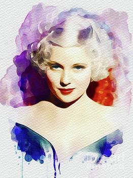 John Springfield - Mary Carlisle, Vintage Movie Star