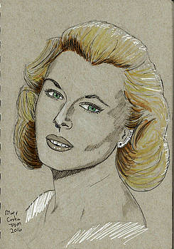 Mary Costa by Frank Middleton