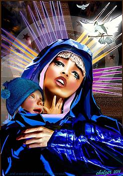 Mary full of grace by Eric Holzer