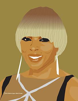 Mary J. Blige 2018 by Michael Chatman