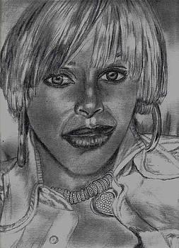 Mary J. Blige by Thomasina Marks