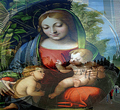 Mary Jesus and John  by Terence McSorley