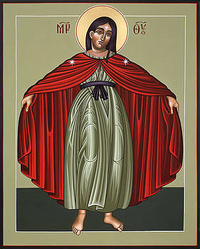 Mary of the Magnificat Mother of the Poor 091 by William Hart McNichols
