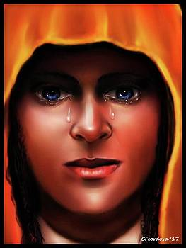 Mary -The Sorrowful One by Carmen Cordova