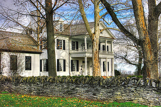 Maryland Country Roads - Historic Rose Hill Manor No. 1 - Frederick Maryland by Michael Mazaika