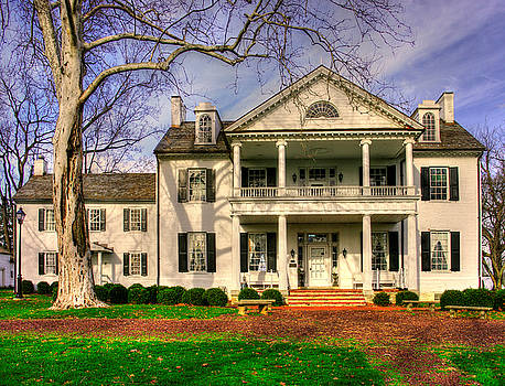 Maryland Country Roads - Historic Rose Hill Manor No. 12 - Frederick Maryland by Michael Mazaika