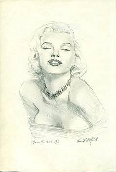 Marilyn by Kean Butterfield