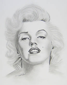 Marylin Monroe  by Joseph Palotas