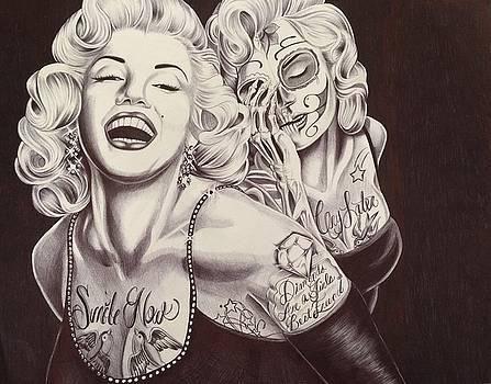 Marylin Monroe by Maritza Montnegro