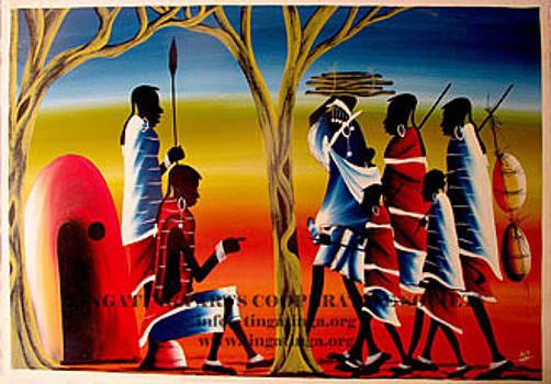Masai Life by Ramadhani Mbwana